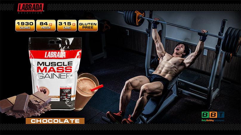 Muscle Mass Gainer tăng cân tăng cơ nhanh đẳng cấp