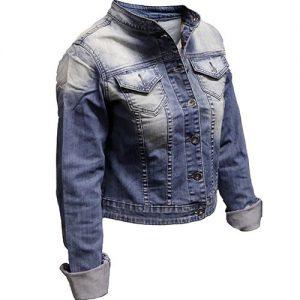 áo khoác Jean nữ WJ004
