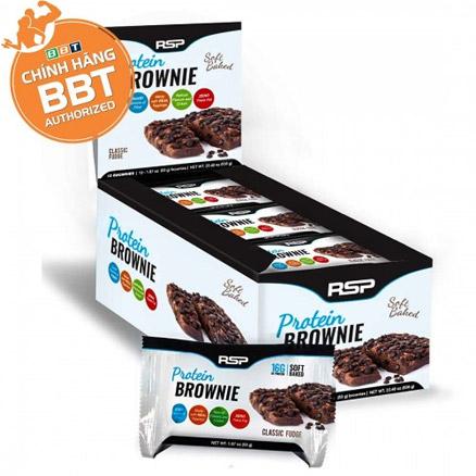 RSP Protein Brownie - Bánh protein cao cấp bổ dưỡng