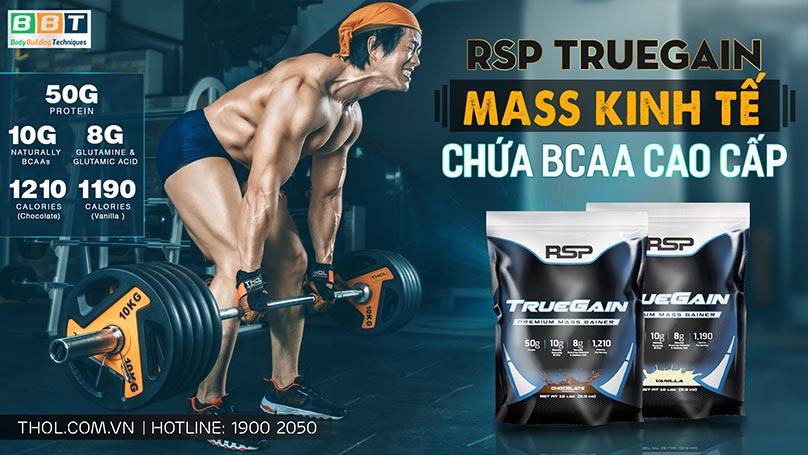 TrueGain - Mass Gainer tăng cân tăng cơ cao cấp