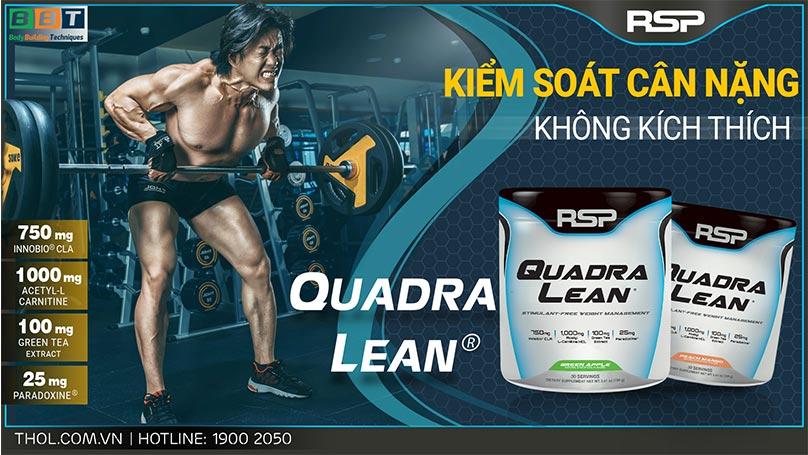 RSP QuadraLean kiểm soát cân nặng không kích thích