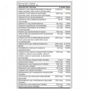 RSP BioVite - Viên Vitamin bổ sung đầy đủ khoáng chất