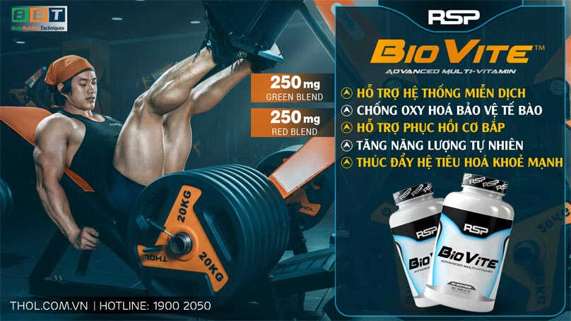 RSP BioVite – Vitamin tổng hợp bổ sung khoáng chất