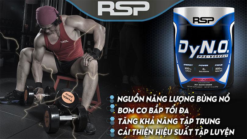 RSP DyN.O - Pre-workout  mạnh mẽ đẳng cấp nhất