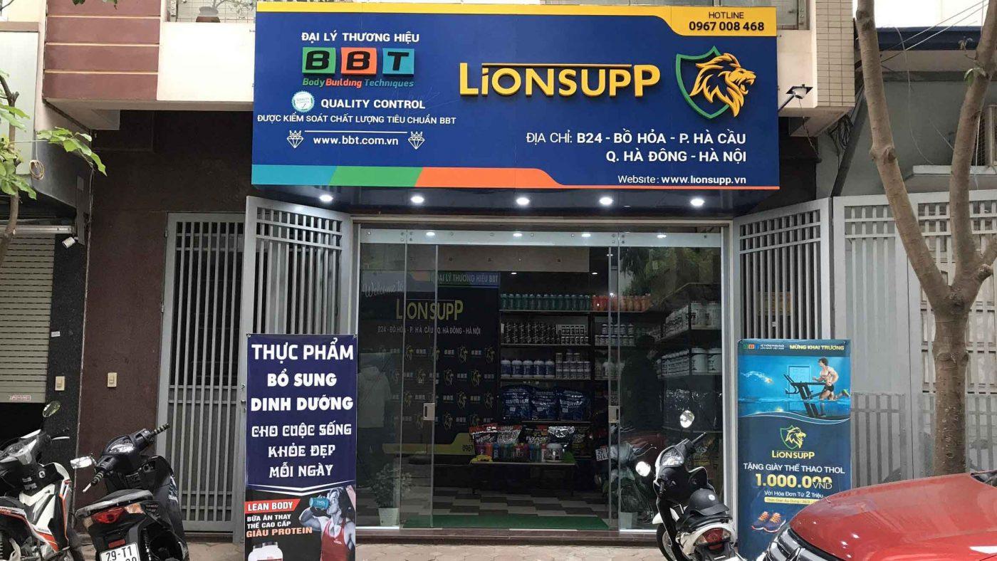 Cửa hàng Lion Supp Hà Nội
