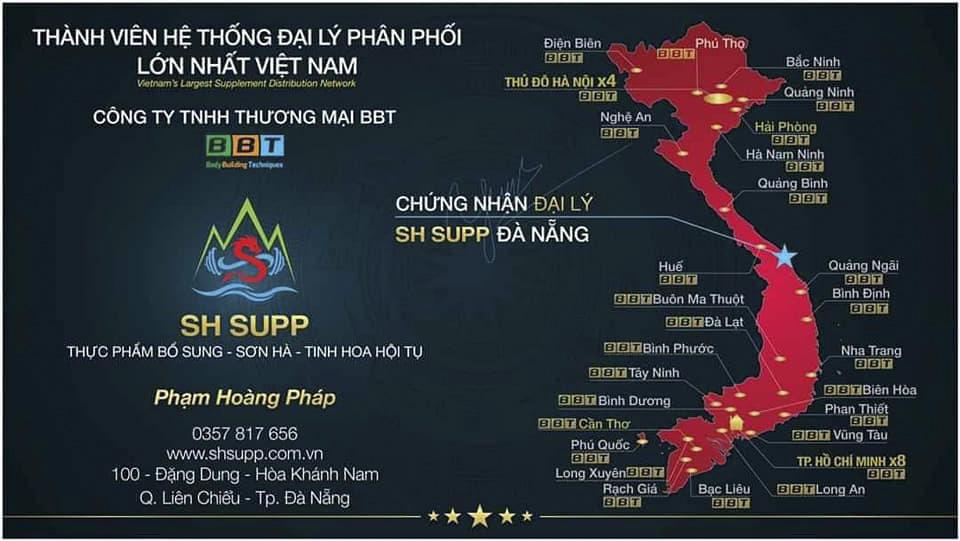 SH Supp – Đại lý BBT Đà Nẵng