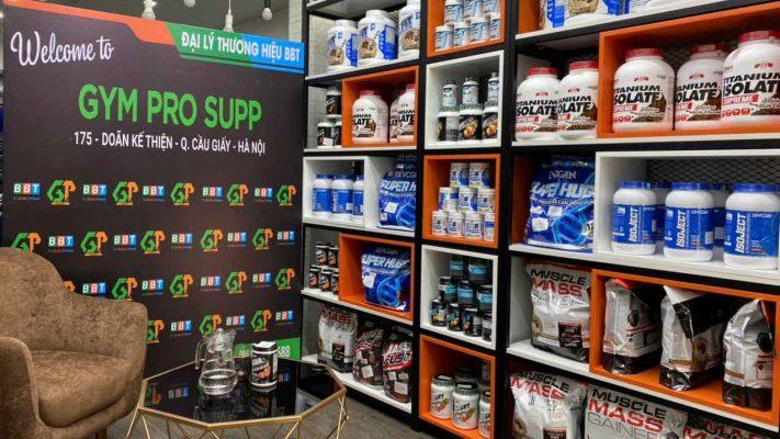 cửa hàng đại lý gympro supp