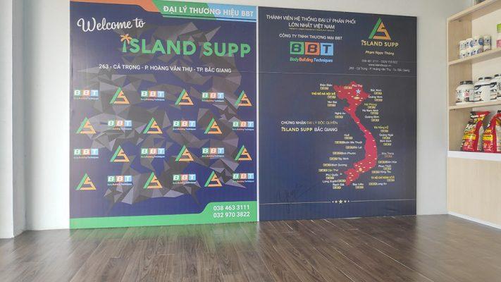 Island Supp - Đại lý thương hiệu BBT