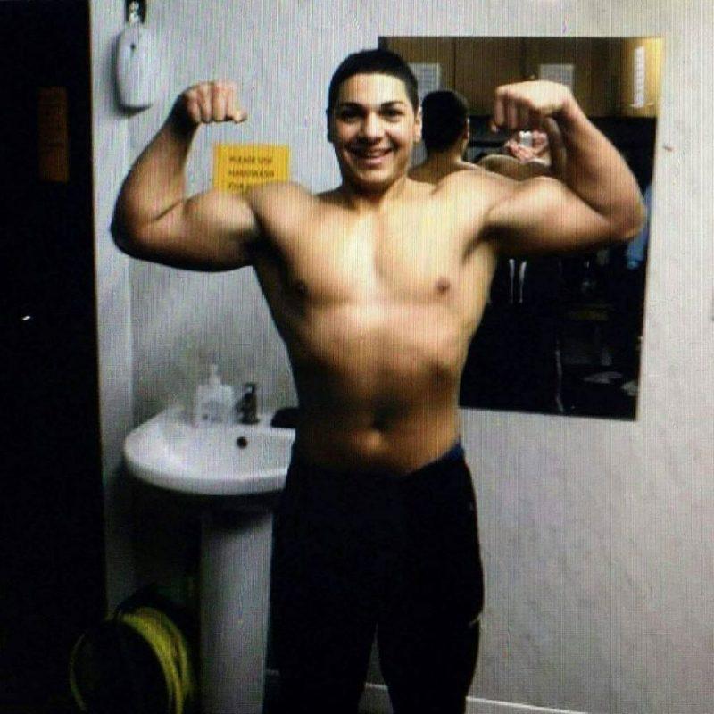 Andrei tin tuong vao gym