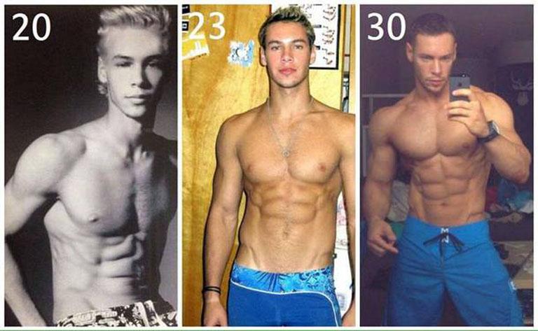 Anton Antipov tập gym tái tạo vóc dáng xây dựng cuộc đời