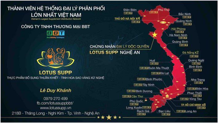 Lotus Supp mảnh ghép của BBT