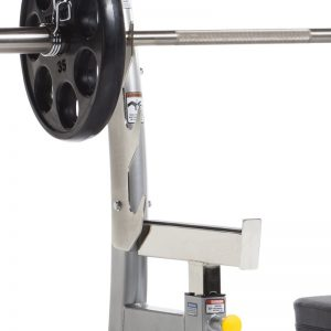 EVOLUTION OLYMPIC BENCH WITH SAFETY STOPPERS