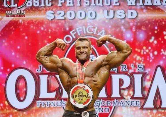 Kirill Khudaiev vận động viên IFBB Pro
