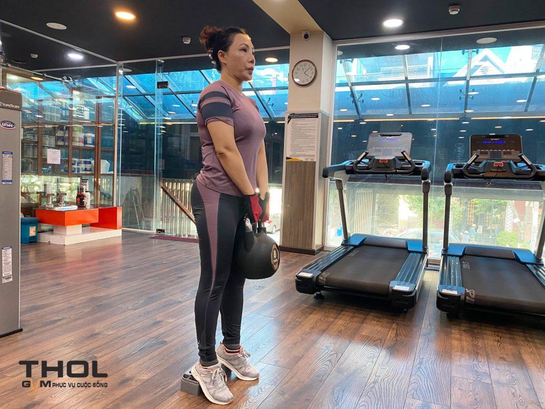 Nghệ sĩ ưu tú Cẩm Tiên lựa chọn Thol gym center