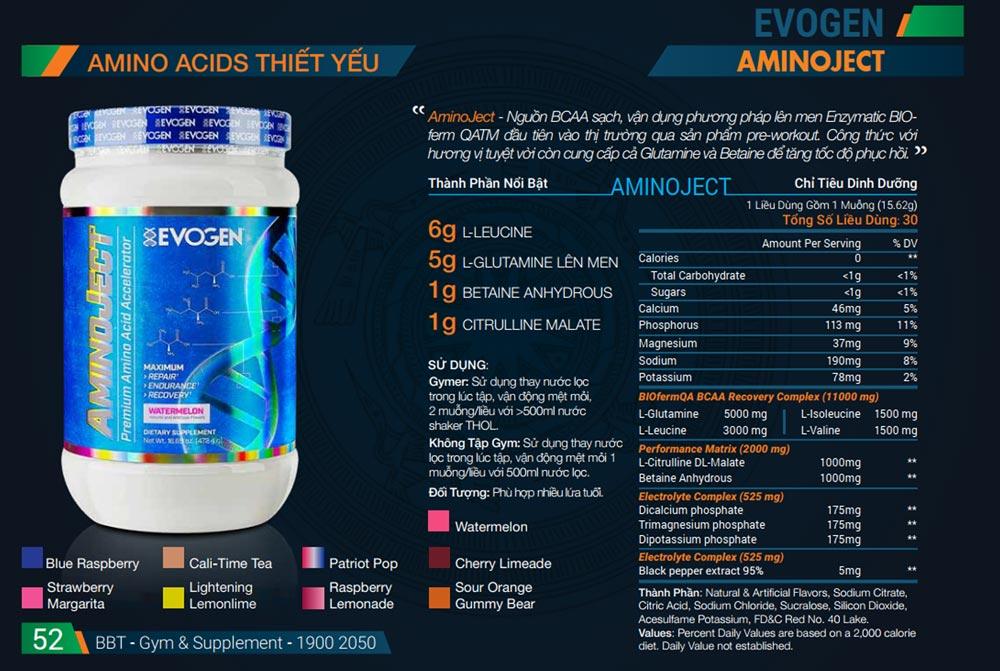 aminoject