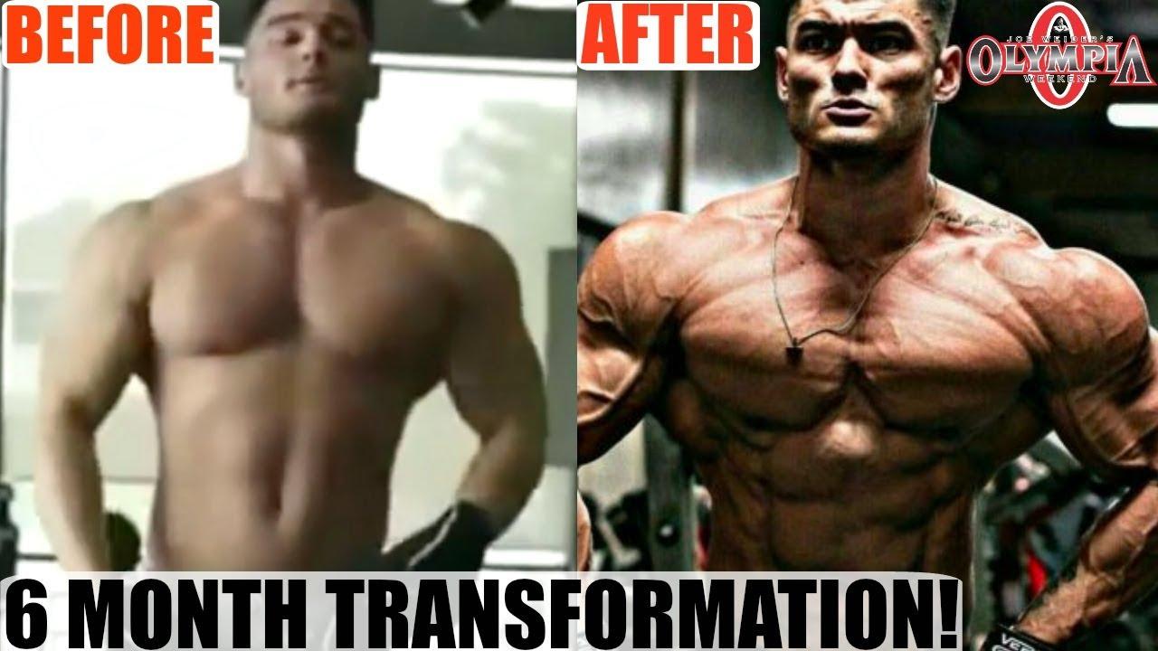 Jeremy thay đổi hoàn hảo sau khi tập gym