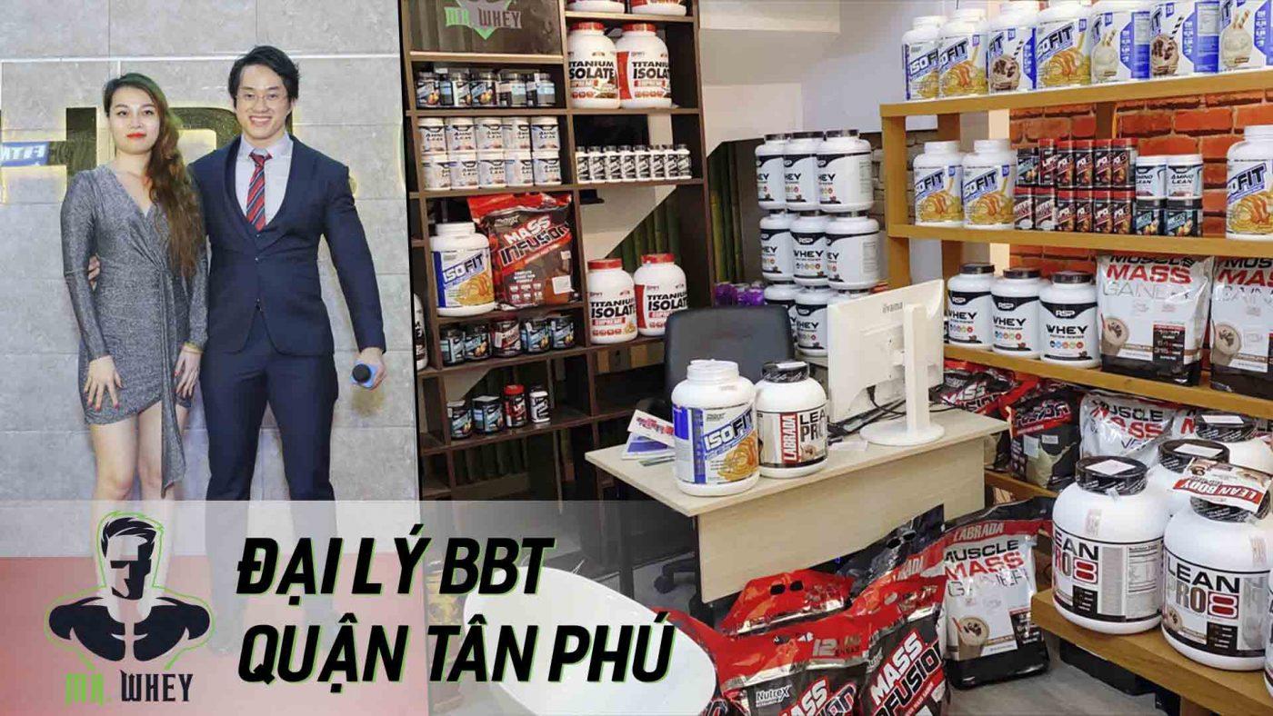 Mr. Whey – Đại lý BBT Tân Phú kinh doanh supplement USA VIP