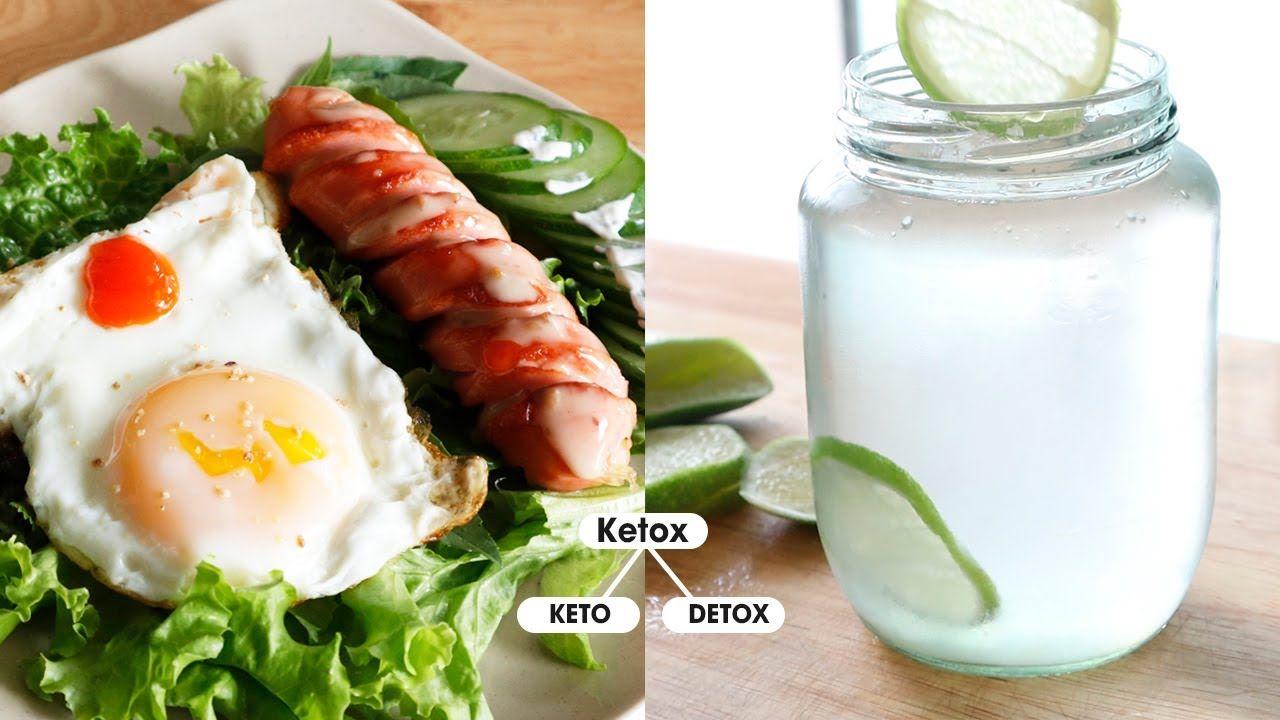 Ketox là phương pháp kết hợp giữa Detox và Keto