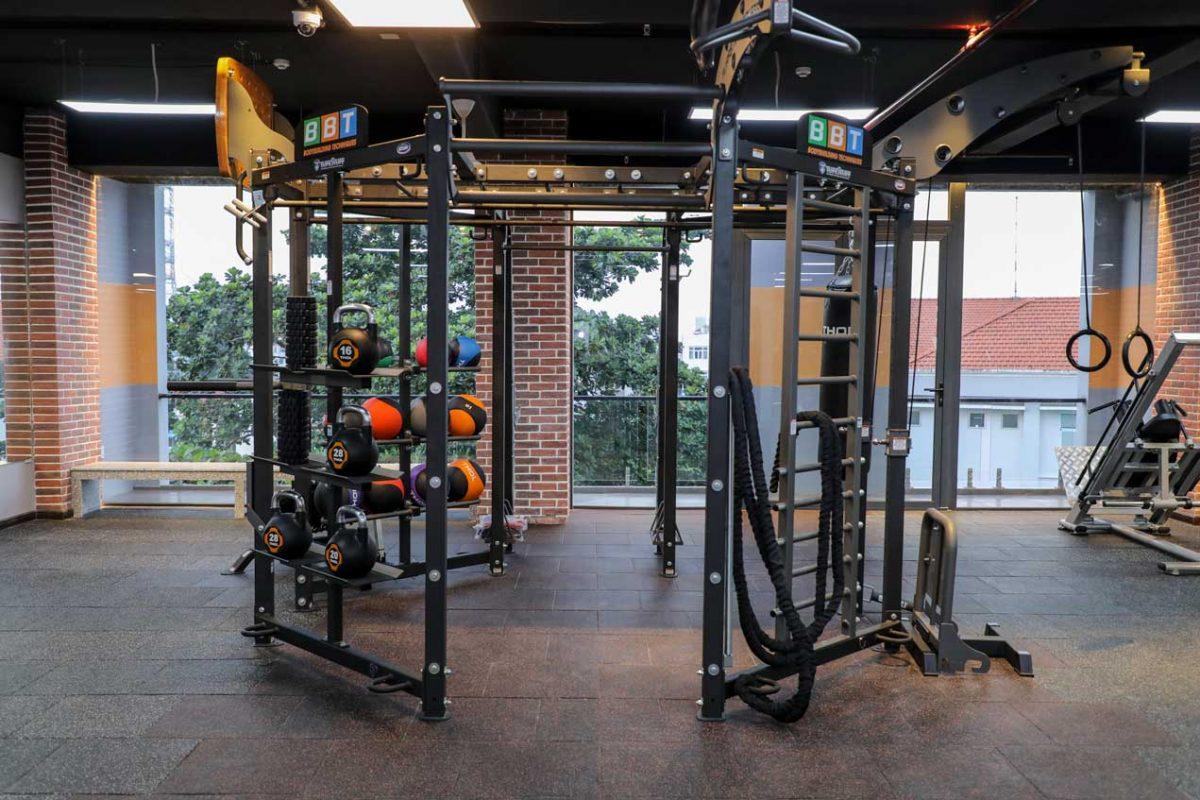 không gian tập luyện đẳng cấp THOL Gym Center