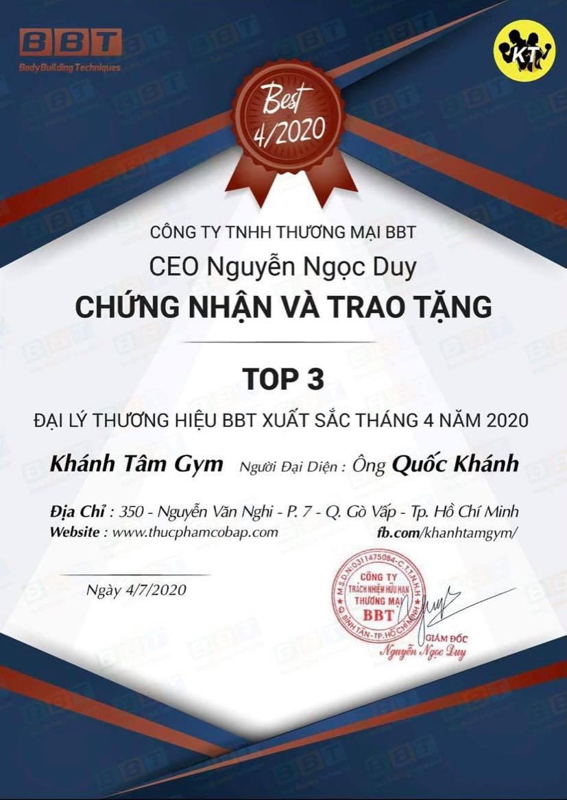 Khánh Tâm – Đại lý BBT Gò Vấp