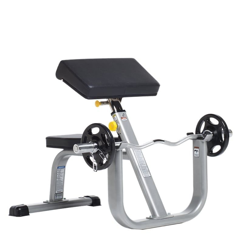 Seated Arm Curl Bench – Máy tập tay